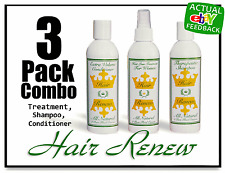 Growth Hair Renew Combo WOMEN LOSS TREATMENT SHAMPOO CONDITIONER shedding thin