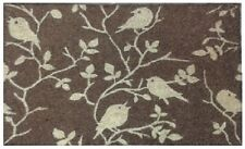 75 x 45cm  Coir Printed Door / Floor Mat Birds On A Branch. Quality Coconut Mat