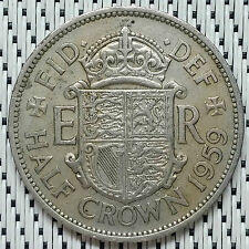 *GOOD Grade* GREAT BRITAIN - 1959 - 1/2 Crown Elizabeth II #CALO