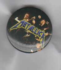 METALLICA  BUTTON BADGE - AMERICAN HEAVY METAL ROCK BAND - MASTER OF PUPPETS
