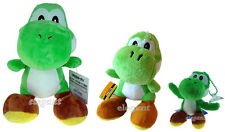 Nintendo Super Mario Brothers Bros 3 Vert Green Yoshi Peluche Plush Doll Set
