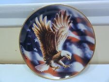 """Franklin Mint """" The American Eagle """" Collector Plate"""