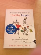 DAVID NIVEN, THE 100 SIMPLESECRETS OF HEALTHY PEOPLE