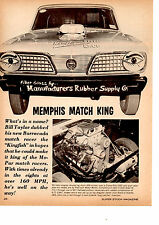 1966 HEMI BARRACUDA  KINGFISH / BILL TAYLOR  ~  ORIGINAL 2-PAGE ARTICLE / AD