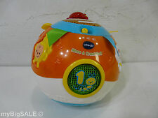 Vtech Move and Crawl Ball Colorful Colors Numbers Ribbon Developmental Baby Toy
