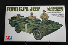 XD067 TAMIYA 1/35 maquette voiture amphibie 35043 500 Ford GPA jeep US amphibian