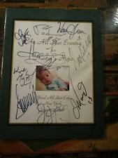 DONALD TRUMP SIGNED AUTOGRAPH HUNTERS HOPE CHARITY PROGRAM + MORE GRETZKY MARINO