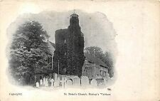 POSTCARD   HAMPSHIRE   BISHOP'S  WALTHAM   St  Peter's  Church