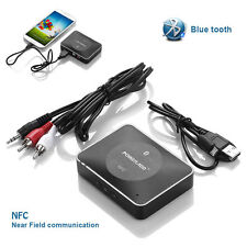 3.5mm USB Wireless NFC Bluetooth Stereo AUX Audio Music Speaker Receiver Adapter