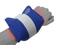 Reusable Hot/Cold Wrist Gel Bead Pack With Compress Wrap