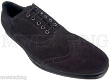 CESARE PACIOTTI US 7.5 LUXURIOUS SHEARLING OXFORDS ITALIAN DESIGNER MENS SHOES