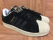VTG�� Adidas x Bape SuperApe Star Originals Superstar Black Gold White Shoe Sz 7
