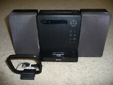 Sony CMT-LX20i CD/AM/FM Micro System iPod iPhone4 Dock MP3 Playback w/ Antenna