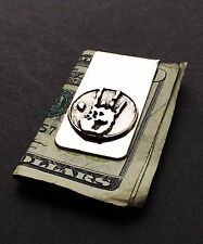 Grateful Dead - Jerry's Hand Print Money Clip in Nickle Silver and Cast Brass