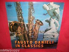 FAUSTO DANIELI Sax in Classics LP ITALY 1972 EX