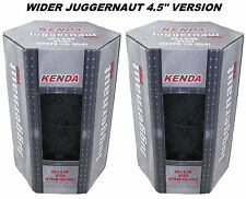 "2 PACK Kenda Juggernaut Pro DTC 26x 4.5"" K1151 Folding Fat Bike Tire Lightweight"