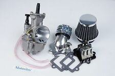 Power intake 28mm PWK Carburetor for Yamaha BWS 100cc YW100 Beewee 100