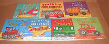 Lot of 7 Amazing Machines Books by Ant Parker and Tony Mitton Paperback NEW