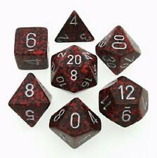 Speckled Dice Silver Volcano 7 Dice Set CHX25344