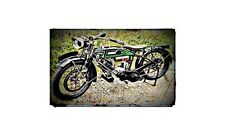1921 Panther Sport Bike Motorcycle A4 Photo Poster