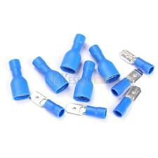 50 Pairs Female Male Insulated Electrical Spade Wire Crimp Terminal Connectors