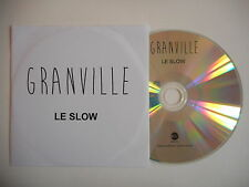 GRANVILLE : LE SLOW [ CD PROMO ] ~ PORT GRATUIT !