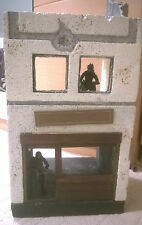 "Custom Made rovinato edificio per 3.75"", 1:18 scala cifre DIORAMA"