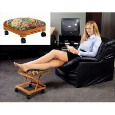 Footrest Adjustable Fold-A-Way Tapestry New