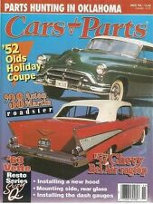 CARS & PARTS November 1995 (1952 98 Holiday,1957 Chevy Bel Air and 1963 Corvette