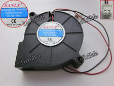 For SANLY SF5015SL Server Blower Fan DC 12V 0.06A 50x50x15mm 2wire 2-pin