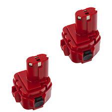2x Akku Batterie für Makita 1220 1222 1233 1234 1235 1925974 1925982 - 3000mAh