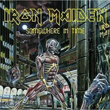 IRON MAIDEN SOMEWHERE IN TIME ENHANCED REMASTERED CD NEW