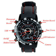 Waterproof 8GB Spy Watch Video Recorder-Hidden Camera DVR Camcorder 1280x960