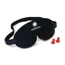 Mindfold Sleep Travel Relaxation Eye Mask *TOTAL DARKNESS WITH YOUR EYES OPEN!*