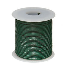 """24 AWG Gauge Stranded Hook Up Wire Green 100 ft 0.0201"""" UL1007 300 Volts"""