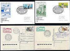 97987) LH FF FFT - Jekatarinenburg - Novosibirsk 10.4.94 + Retour, 4 Belege kpl