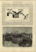 1876 Brooklyn Calamity Funeral Greenwood Cemetery Wj Lewis Flying Machine