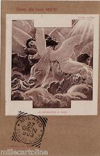"""#MILANO 1903- TEATRO ALLA SCALA """"LA DANNAZIONE DI FAUST""""- TIMBRO...ediz. MODIANO"""