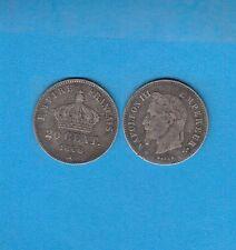 Gertbrolen   20 Centimes argent Napoléon III tête laurée1866  Paris  Lot  B