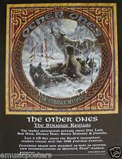 """OTHER ONES """"STRANGE REMAIN"""" POSTER -Grateful Dead,Phil Lesh,Bob Weir,Mickey Hart"""