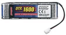 DuraTrax DTXC2186 1600mAh NiMH 7.2V 6-Cell Flat Battery Pack RC18 RC18T2 RC18B2