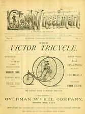 Old Cycling Magazines Bicycling World Canadian Wheelman  DVD 60 ISSUES 1879 --4