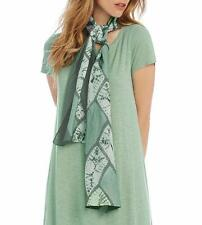 NWT Eileen Fisher Dragonfly Silk Shibori Braid Scarf $148.00