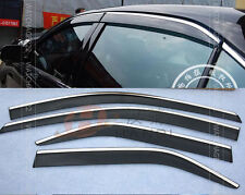 FIT FOR 2012 VW PASSAT (B7) WIND DEFLECTOR WEATHERSHIELD RAIN GUARD WINDOW VISOR