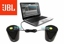 JBL Jembe Amplified Powerful Laptop MAC Desktop Entertainment Speakers Black