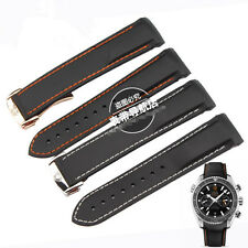 20mm 22mm rubber watch strap diving silicone band for Omega Seamaster 2 size