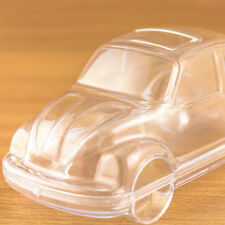 1x Car Shaped Fillable Transparent Plastic Container beetle bug Volkswagen VW