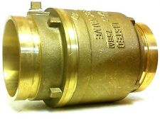 """4"""" GROOVED SWING CHECK VALVE BRASS BODY 175PSI UL/FM FIRE PROTECTION"""