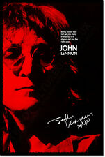 JOHN LENNON ART PHOTO PRINT 2 POSTER GIFT FRIENDS QUOTE