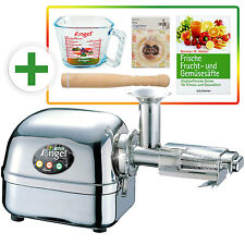 Angel Juicer 8500s exprimidor, jugo de prensa acero inoxidable + regalo